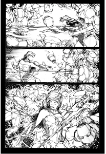 The Silence Issue 1 Page 17 inks.036